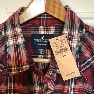 BNWT, American Eagle Super Soft Flannel, size M